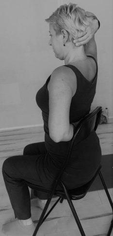 Stoel Yoga foto rechts